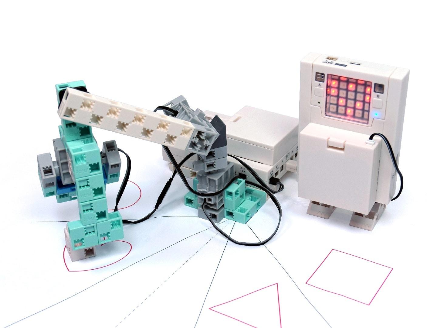 robot programmé lors du cours de programmation n°8