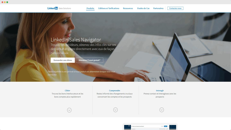 outils account based marketing Sale Navigator