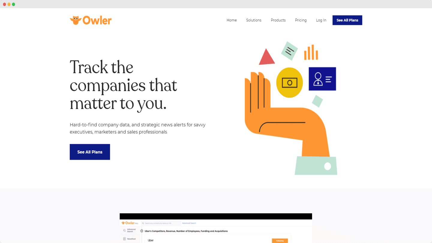 outils account based marketing owler