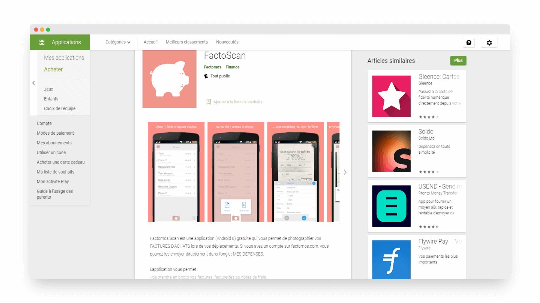 Factomos App