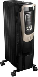 Pelonis Oil Filled Radiator Luxurious Champagne Portable Heater