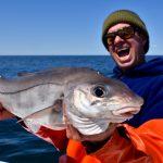 Man with Large Haddock