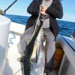 Man Holding Bluefin Tuna Catch