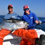 Couple of Fishers with Bluefin Tuna