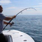 Man Fishing for some Tuna