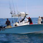 Fisherman Releasing Tuna