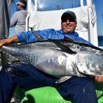 Man with Huge Cape Cod Tuna Catch