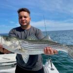 Cape Cod Striped Bass Fishing Charters