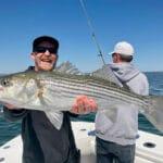 Cape Cod Striped Bass Fishing Charter