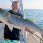 Cape Cod Striped Bass Fishing Provincetown Massachusetts