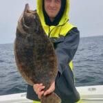 Cape Cod Fluke and Black Sea Bass Fishing