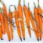 Roasted Garlic Carrots