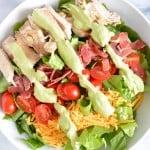 Turkey California Club Salad