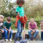 bushcraft activities for primary schools