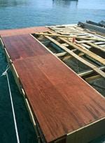 SNUBA adventure SNUBA St Maarten maintenance platform under construction