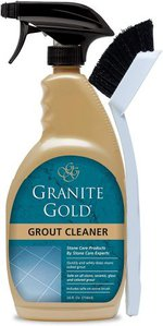 Granite Gold Grout Cleaner and Scrub Brush Acid-Free Cleaning