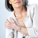 elderly person with chronic pain