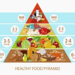 a food pyramid can help people balance their meals