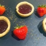 Easy Jam Tarts Recipe - This quick and easy jam tart recipe is perfect for a bit of nostalgia. With the addition of basil in the pastry it adds an additional subtle flavour - AmateurChef.co.uk