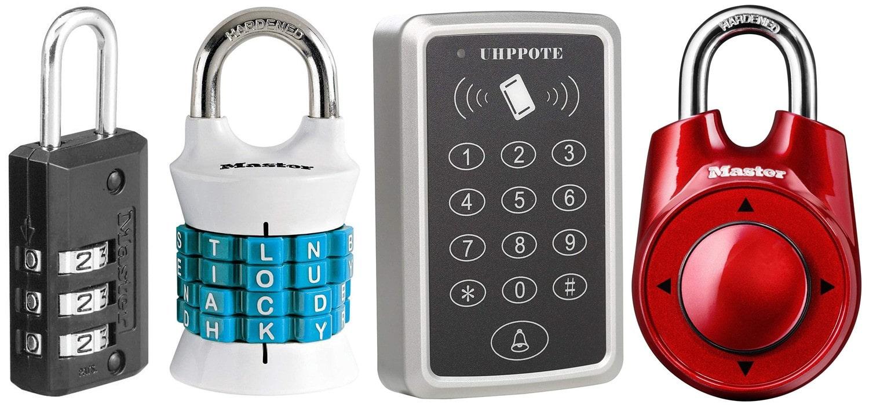 Various different locks