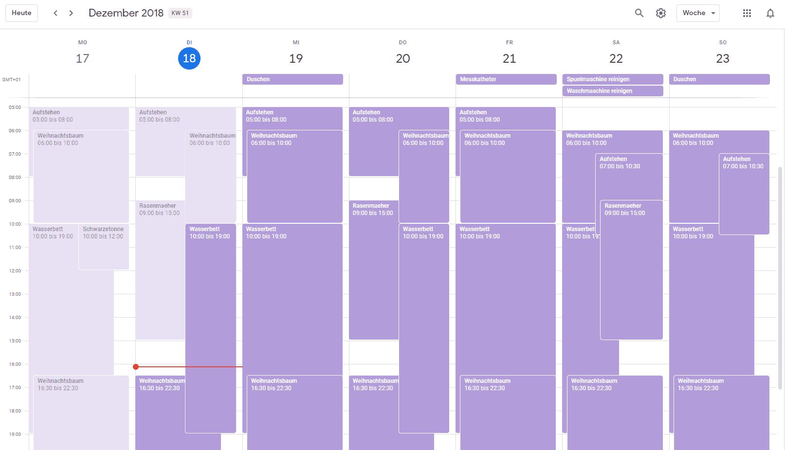 Smarthome steuern über Google Kalender oder Outlook