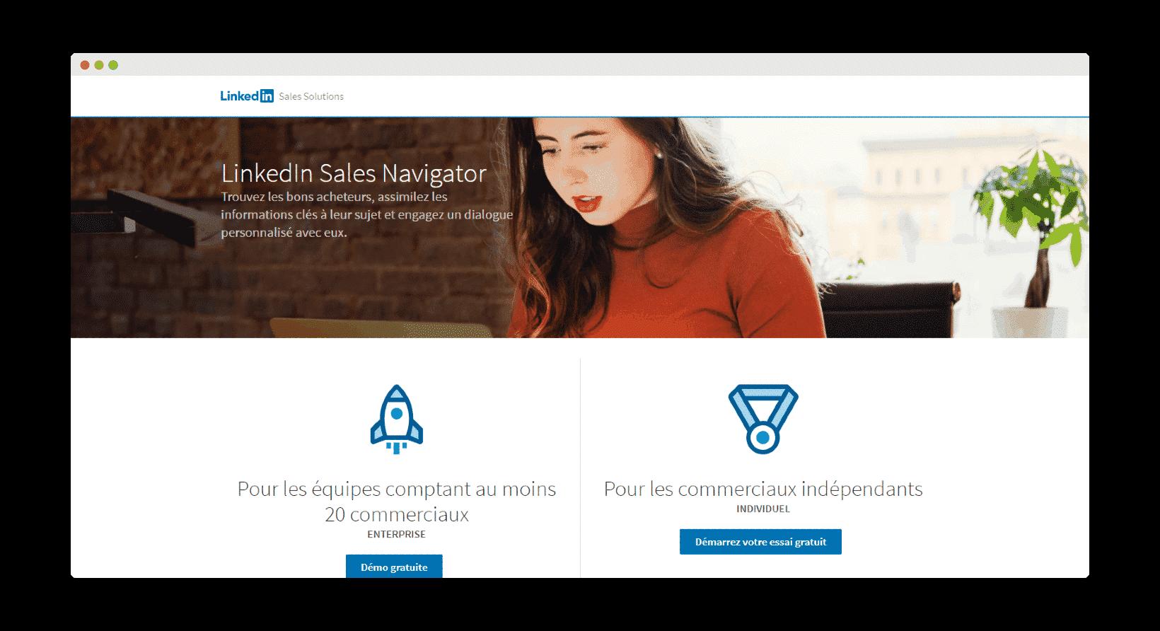 LinkedIn SalesNavigator