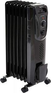 Amazon Basics Oil Filled Radiator Heater