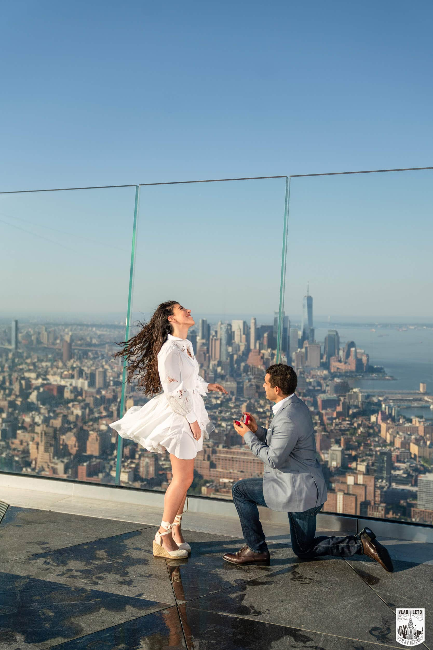 Surprise proposal at the Edge