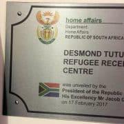 Refurbished Marabastad refugee reception office February 2017