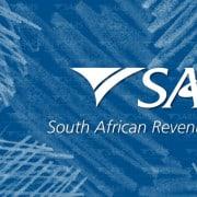 Sars logo on blue background