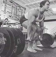 Arnold Deadlifts