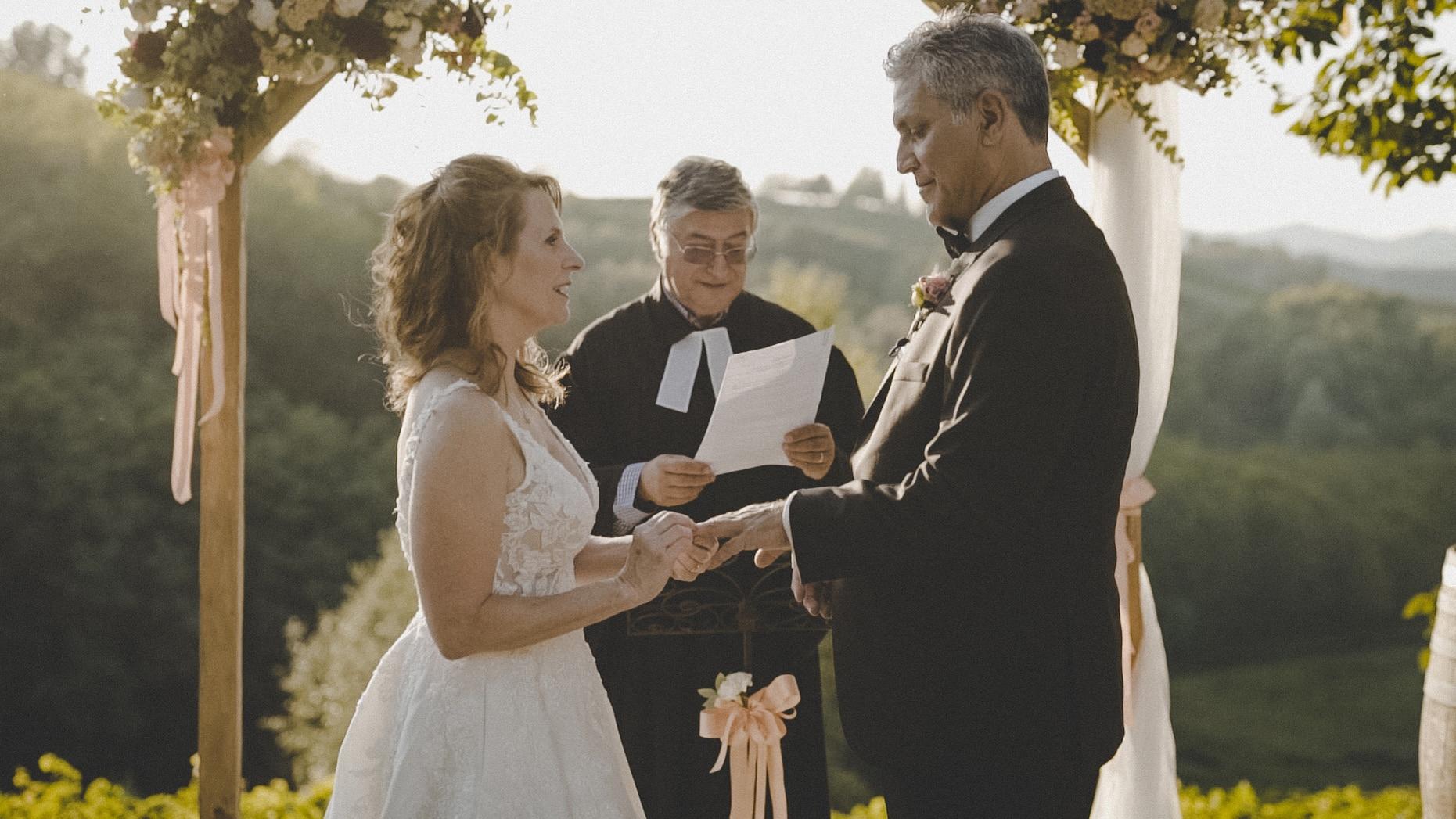 cerimonia di matrimonio intima