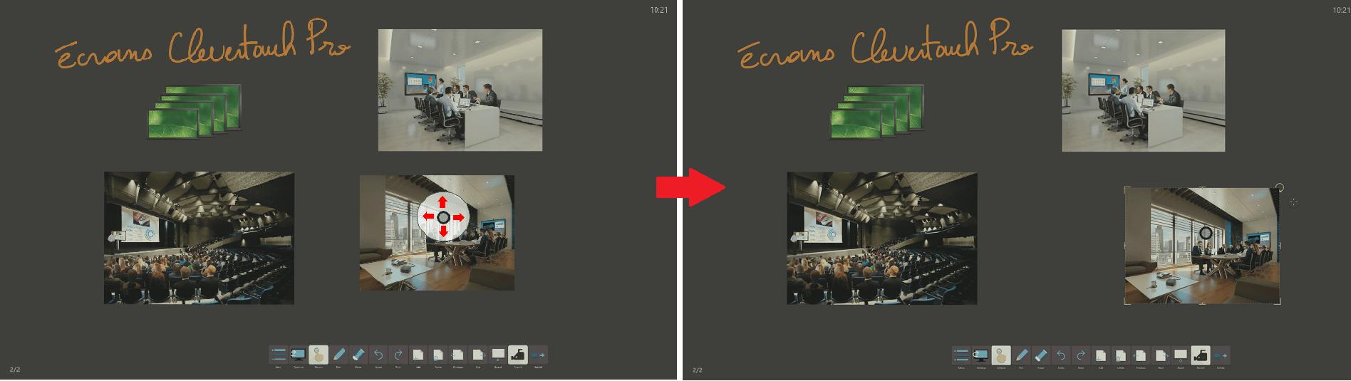 sélectionner sur le logiciel professionnel lynxpro meeting