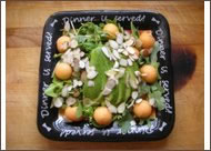 Arugula and Melon Salad