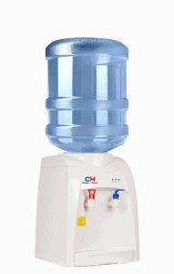 на фото кулер для питьевой воды от компании по доставке воды в Черкассах Вода плюс