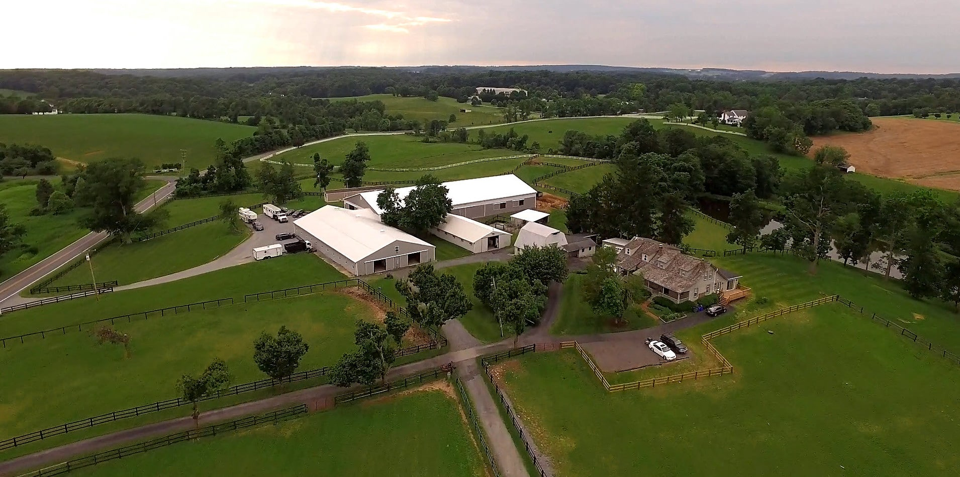 aerial view of bsw
