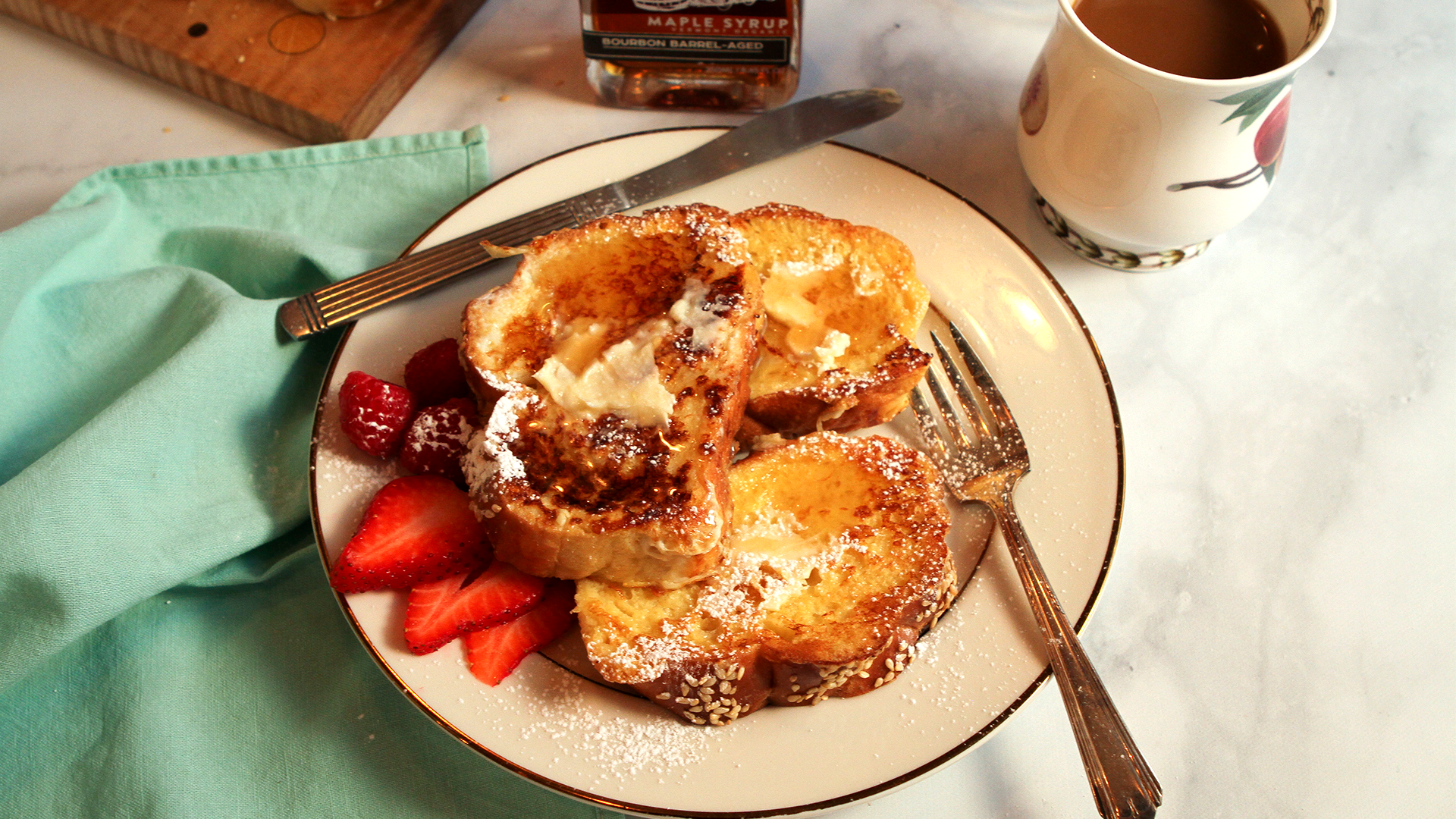 RM Challah French Toast