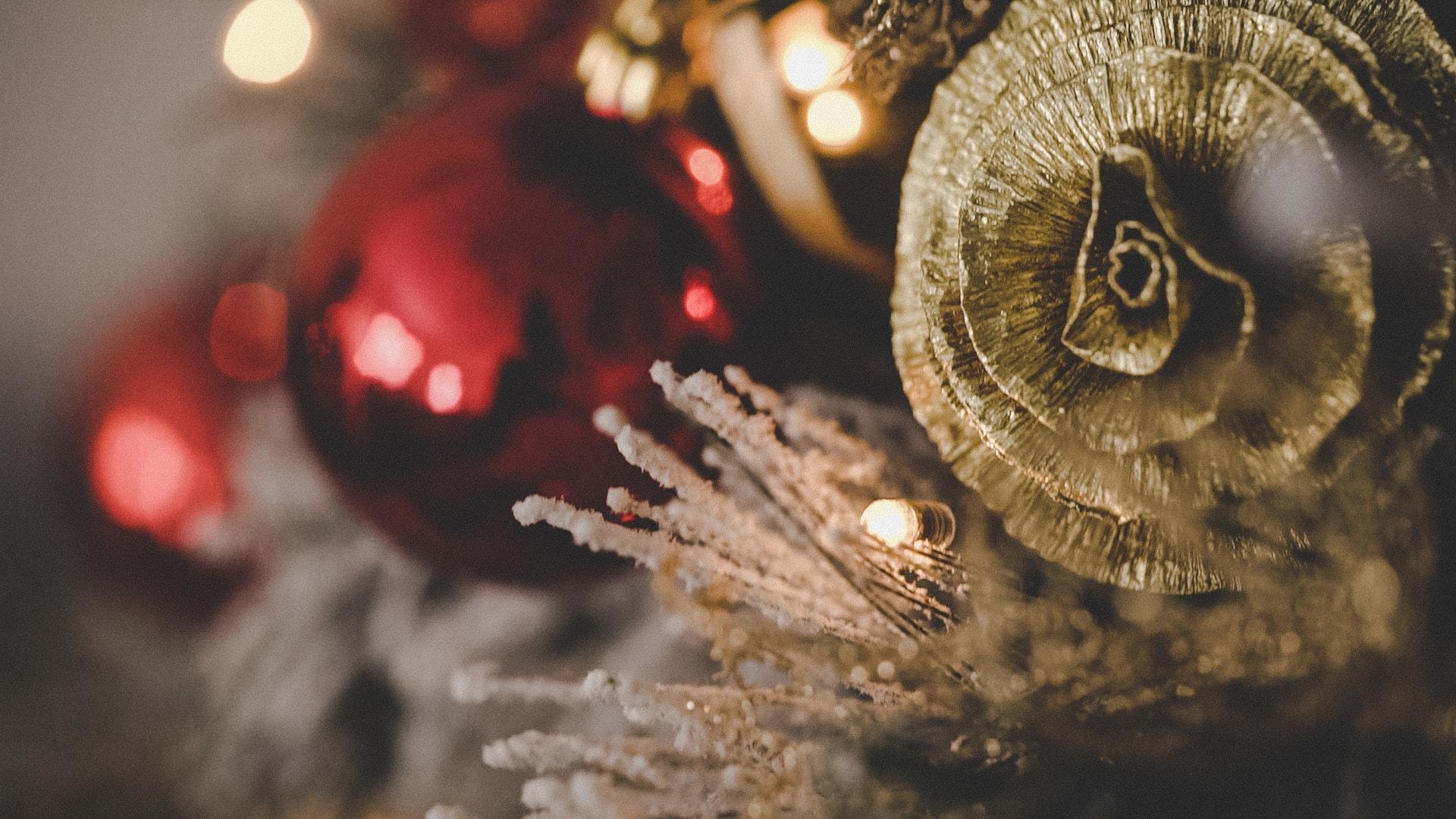 decorazione matrimonio natalizio