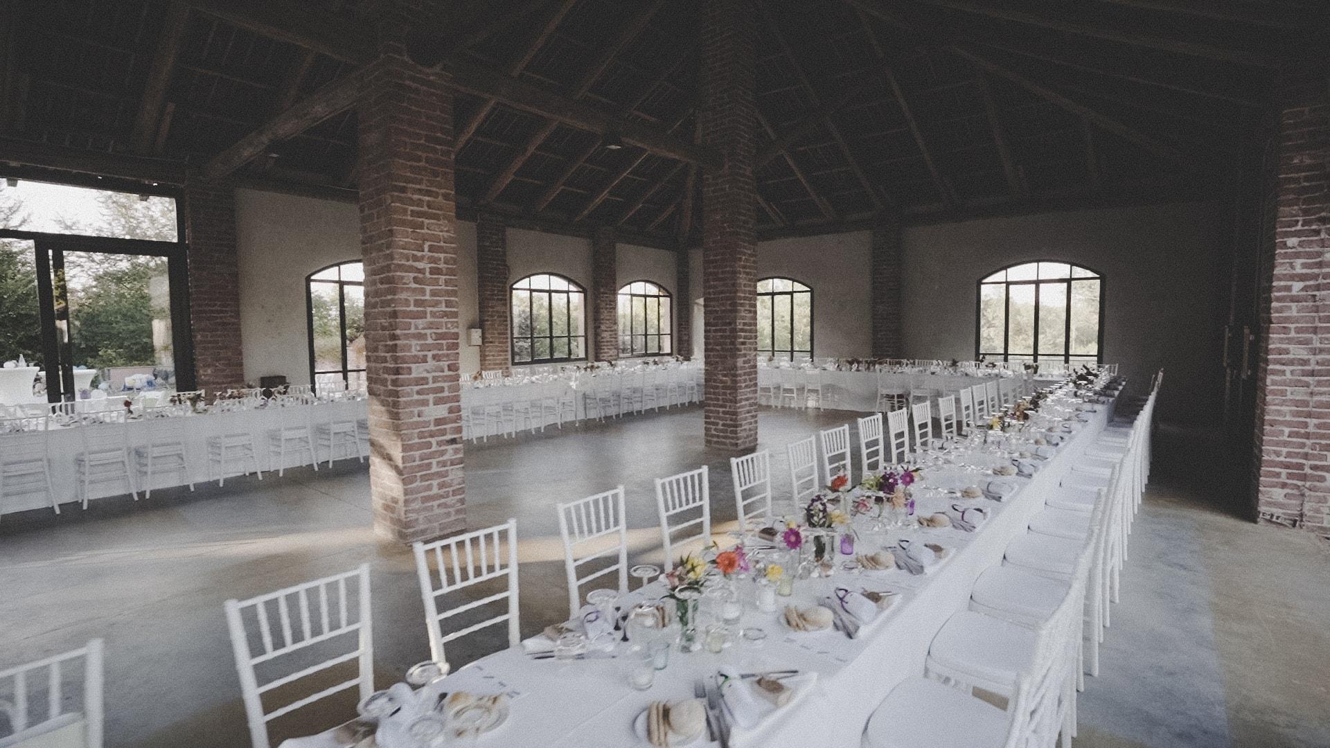spaziosa location di matrimoni