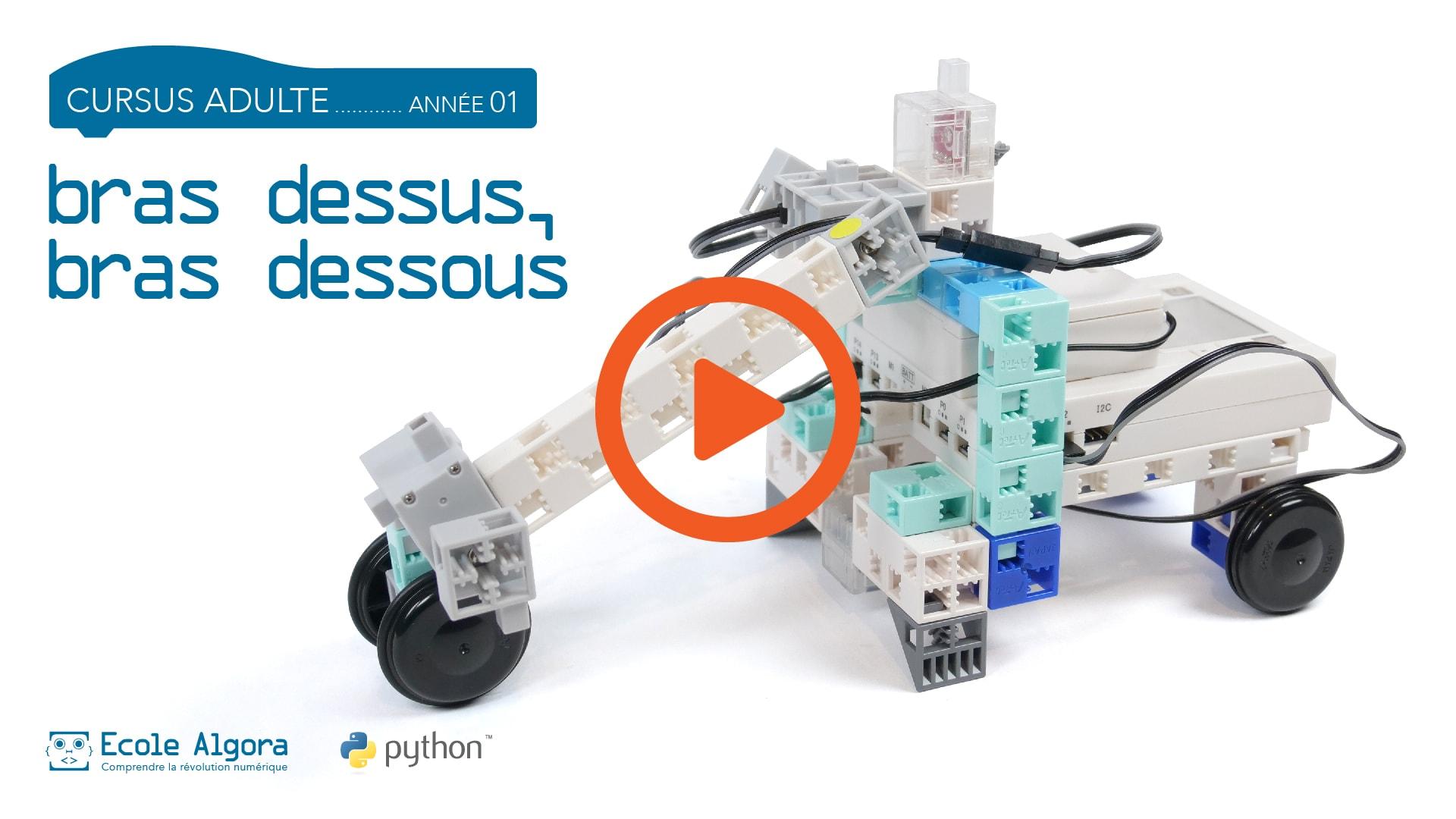vidéo du 7ième cours de programmation en Python