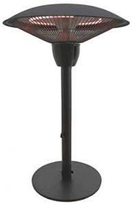 Fire Sense Table Top Halogen Patio Heater