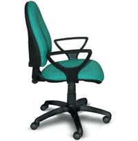 Кресло офисное Мартин подлокотник Самба (ткань офисная)