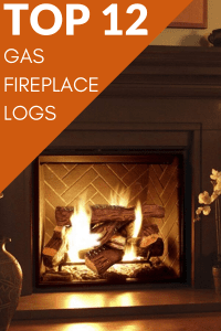 Gas Fireplace Logs: Reviews of the top 12 gas log fireplace inserts #GasLogs #FireplaceInsert #GasFireplaceLogs #FireplaceLab