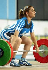 Weightlifting Girl