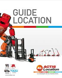 guide de location Actis Location