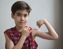 Kid Flexing