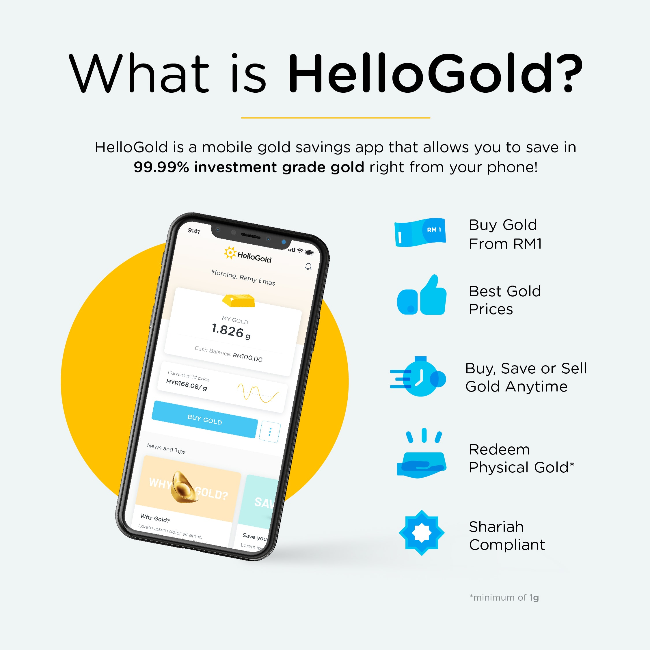 What is HelloGold?