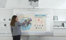 Speechi interactive projector