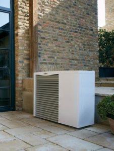 Die Wärmepumpe stellt eine gute Alternative zum Blockheizkraftwerk dar.