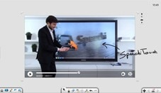 multimedia-software voor interactieve beamer